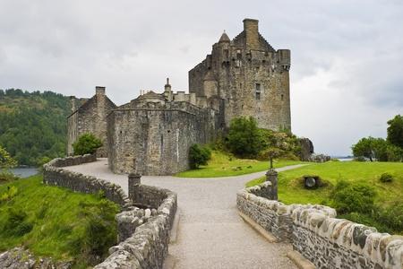 스코틀랜드에서 Eilean 도난 성 스톡 콘텐츠
