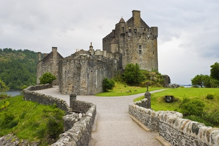 Eilean Donan castle in Scotland photo