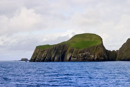 Faire isle in the Shetlands islands archipelago photo