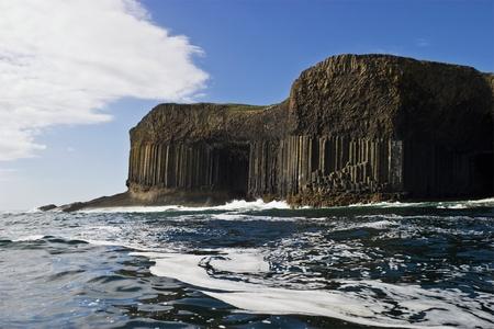 Staffa and Fingals Cave in Scotland