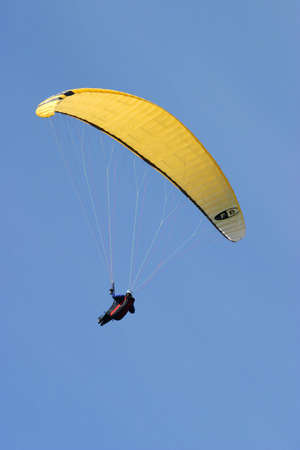 Paraglider, freedom in the sky. Editorial