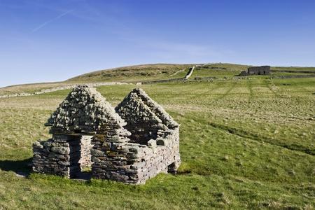 croft: Old ruins at the heathland