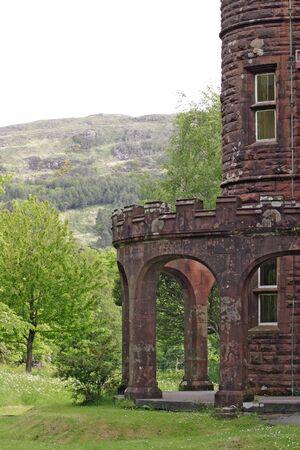 rhum: Castle at Rhum, Scotland