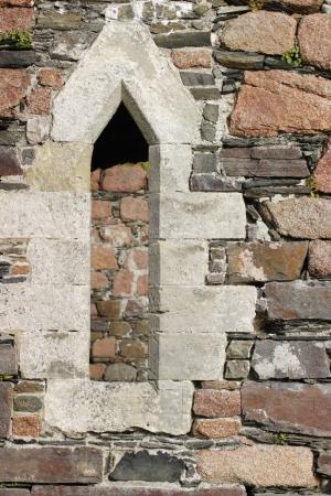 niche: Window niche Stock Photo