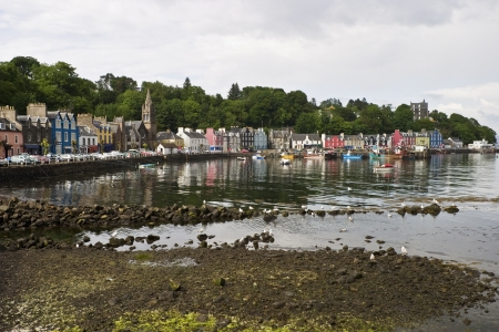 Low tide in Tobermory photo