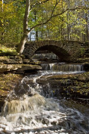 Old stone bridge photo