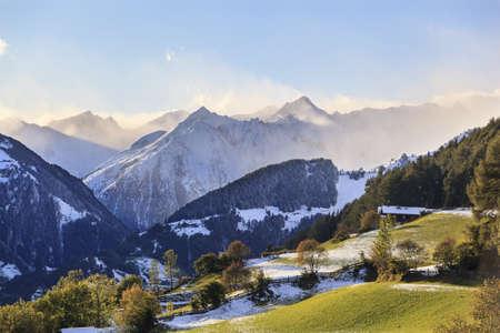 View of alp autumn landscape Stock Photo - 14537082
