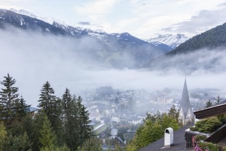 osttirol: View of Matrei alp village in Austria