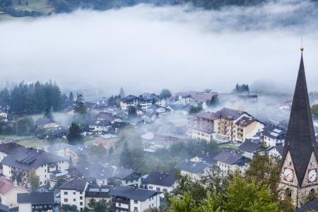 matrei: View of Matrei city in Austria