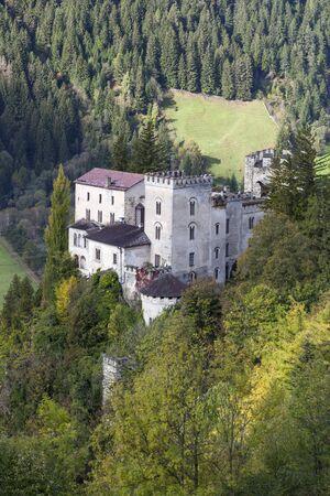 matrei: Weissenstein Castle in Osttirol at autumn