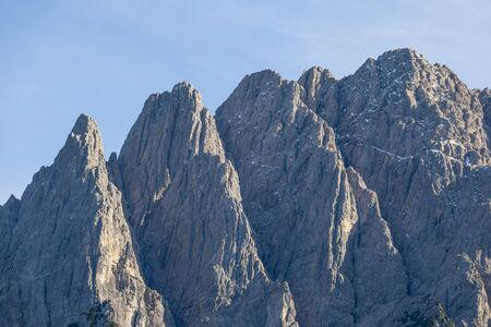 osttirol: High mountains peaks and ravines