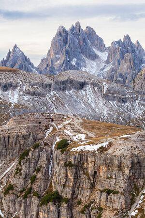 Dolomites mountain landscape  photo