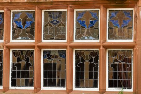 rhum: Window with stained Glass