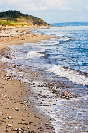 Sandy beach at a beautiful coastline Stock Photo - 15640709
