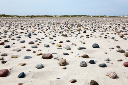 Sand beach with small stones Stock Photo - 15781893