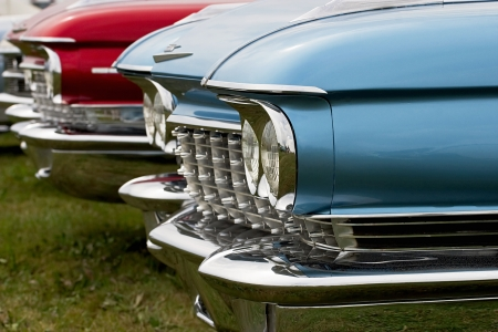 Car parked in a line Stock Photo - 16507531