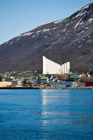 View of the Tromso city Stock Photo - 16518279