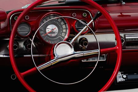 The interior in a convertible. Stock Photo - 16463260