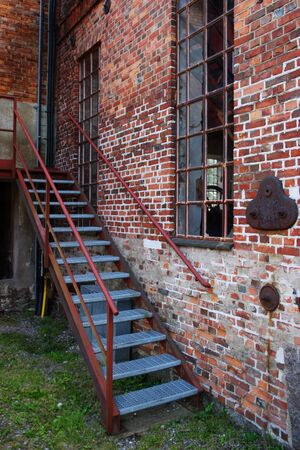 backstreet: Stairs into the old industry