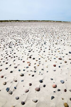 Sand beach with small stones Stock Photo - 16895503