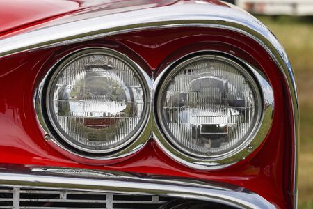 Headlight on classic car Stock Photo - 17332530