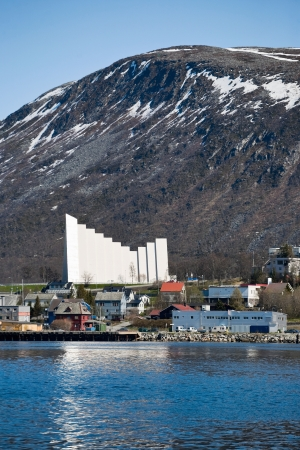 View of the Tromso city Stock Photo - 17456696