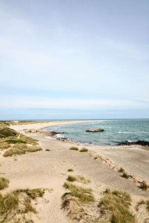 Beach at Skagen in Denmark Imagens
