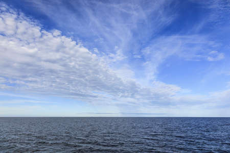 weather front: Weather Front over the sea