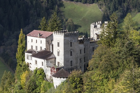osttirol: Weissenstein Castle in Osttirol at autumn