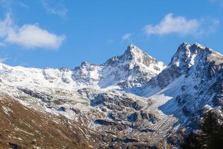 Mountain peaks in the alp Stock Photo - 20782953