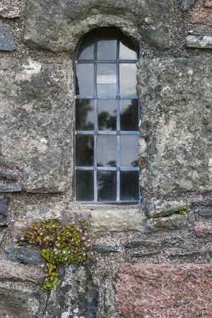 Window niche in a old abbey Stock Photo - 20822796