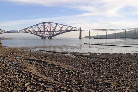 conveyed: The Forth Rail Bridge South Queensferry Edinburgh Scotland