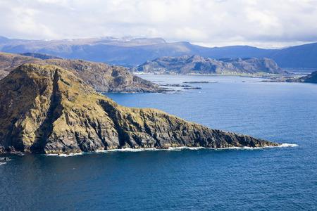 fjords: Norwegian coast landscape