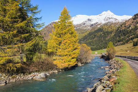 osttirol: Autumn in the alp valley