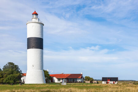 oland: Lighthouse on the coast at oland in Sweden