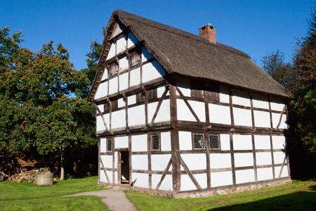 half timbered house: Half timbered house in Germany Editorial
