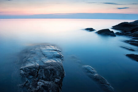 �rock formation�: Rock formation at the coast Stock Photo
