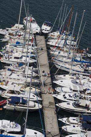 pleasure: Pleasure boats at the pier