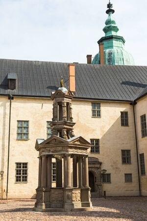 water well: Water Well in the courtyard of the Kalmar castle