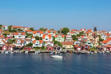 nautical structure: Fiskebackskil an old fishing village on the Swedish west coast