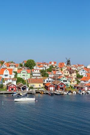 nautical structure: Fiskebackskil an old coastal settlement on the Swedish west coast