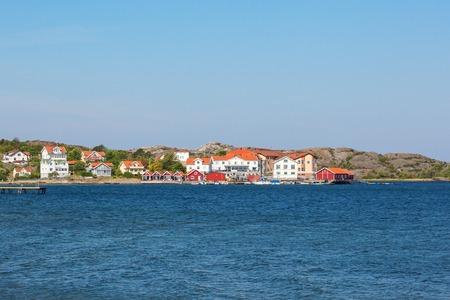 nautical structure: Beach house on the coast Stock Photo