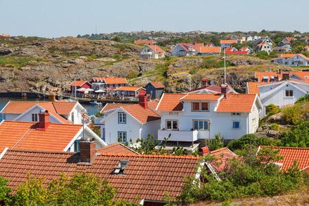 residential idyll: Grundsund, a coastal community on the Swedish west coast