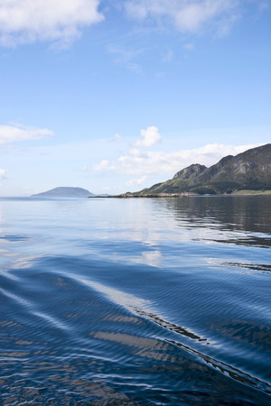 waterscapes: Fjord archipelago at the coast