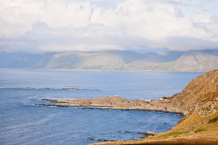 waterscapes: Norwegian coast landscape