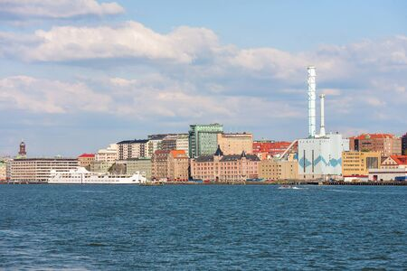 gothenburg: View to Gothenburg from the water