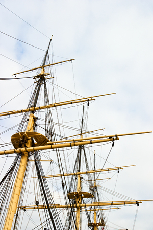frigate: Rigging on a old frigate