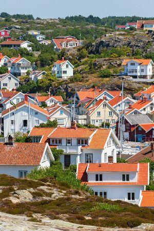 residential idyll: Grundsund, an ancient village on the Swedish west coast