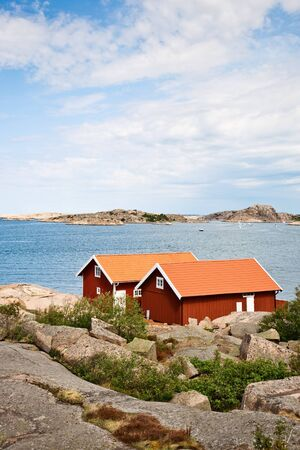 waterscapes: Summer cottages at the Swedish west coast