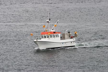 fishingboat: Fishingboat at sea